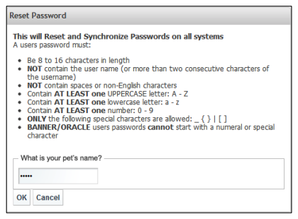 password reset - security questions image