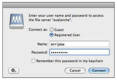 sample username and password image