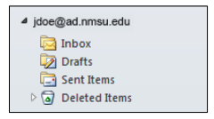outlook e mail boxes image