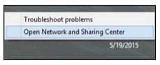 windows 8 classic view Path to Network and Shareing Center Image