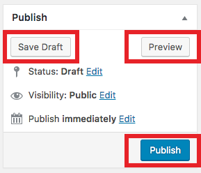 preview publish savedraft