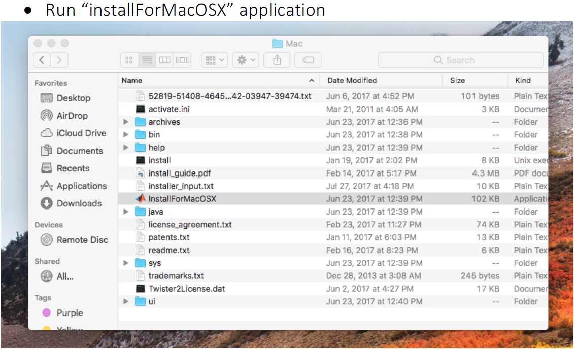 Matlab install for mac osx file image