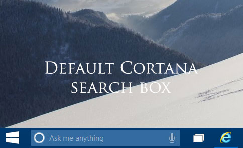 Cotana Search box